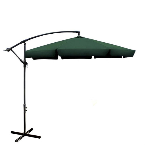 ALEKO 10' Adjustable Outdoor Garden Patio Banana Hanging Umbrella by ALEKO