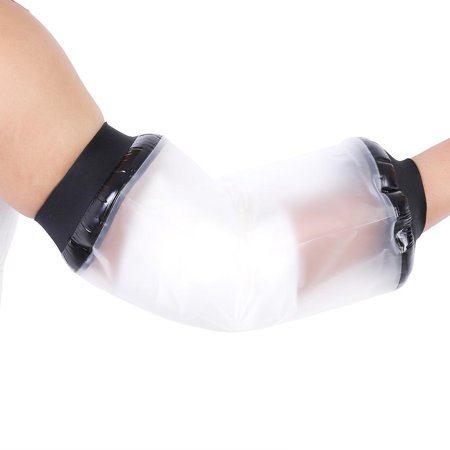 WALFRONT Adult Wound Fracture Hand Cast Bandage Protector Cover Waterproof Hand Arm Sealed Protector for Shower (Best Way To Cover Arm Cast In Shower)
