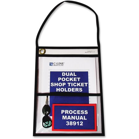 - C-Line Shop Ticket Holders with Strap, Stitched, 150
