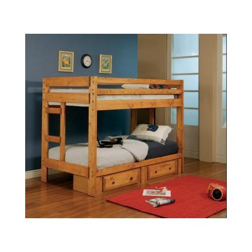Wrangle Hill Bunk Bed Twin/Twin Bunk Bed