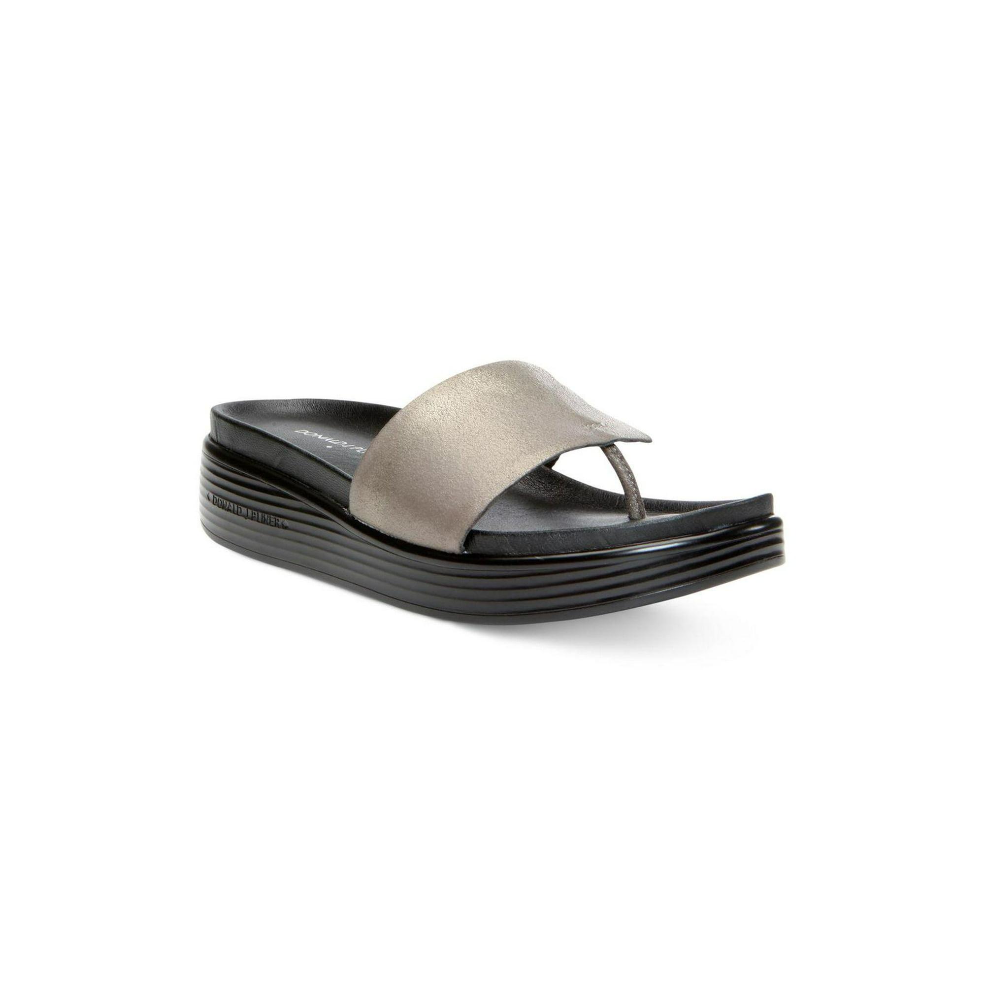 b623f430565 Donald J Pliner Womens FiFi Leather Open Toe Casual Platform ...