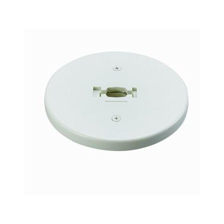Cal Lighting HT-301 Round Line Voltage Monopoint Plate for HT Track Systems