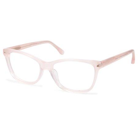 389cd4f4b8c4 Cynthia Rowley No. 88 Women s Blush Square Eyeglasses - Walmart.com