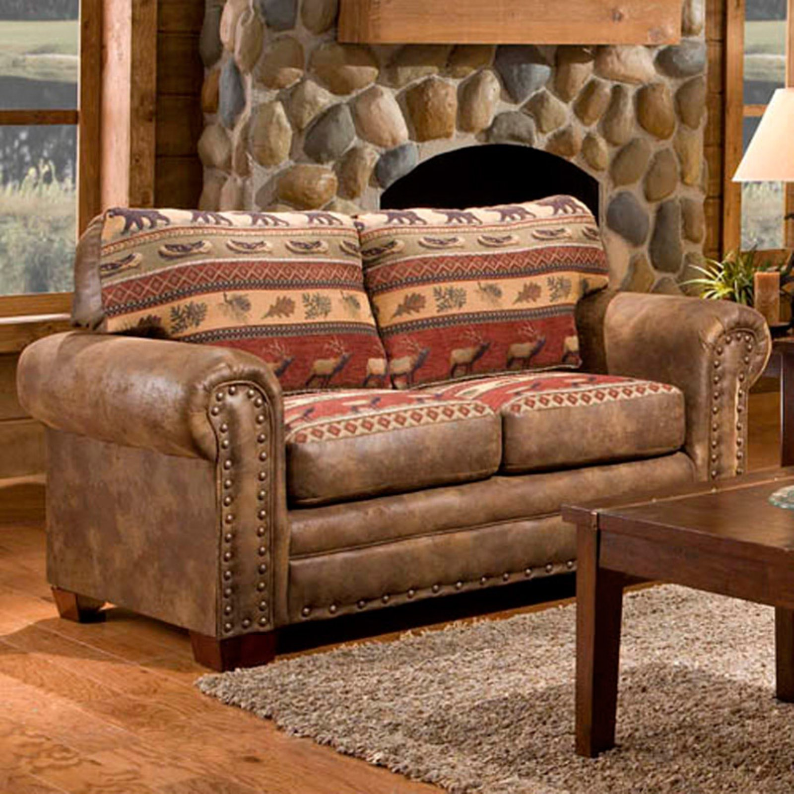 American Furniture Classics Sierra Lodge Loveseat