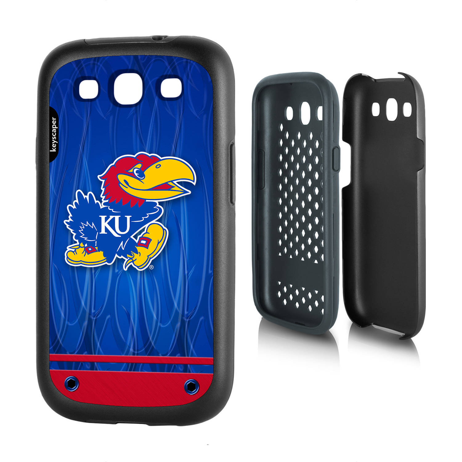 Kansas Jayhawks Galaxy S3 Rugged Case