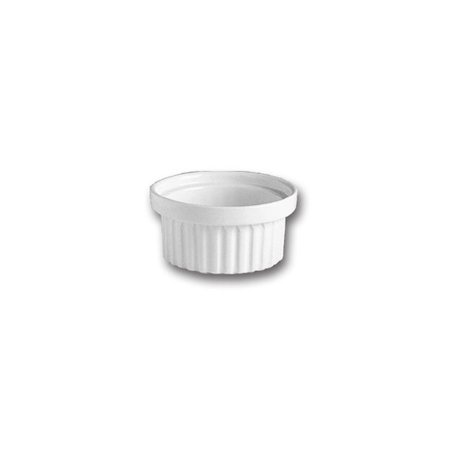 Hall China 1160AWHA White 6 Oz. Stacking Ramekin - 24 / -