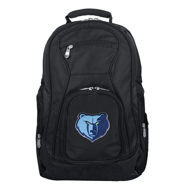 """Memphis Grizzlies 19"""" Laptop Travel Backpack - Black - No Size"""
