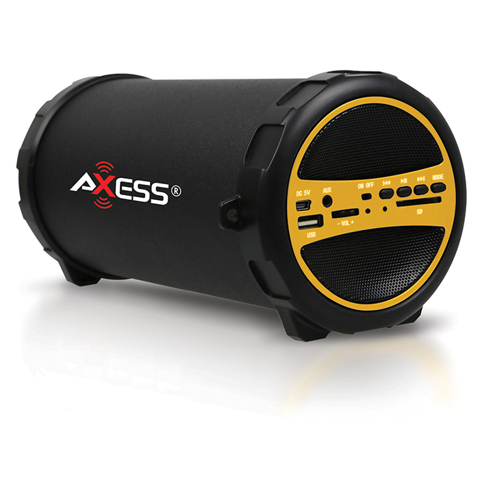 Axess  Portable Speaker SPBT1031-YL Yellow