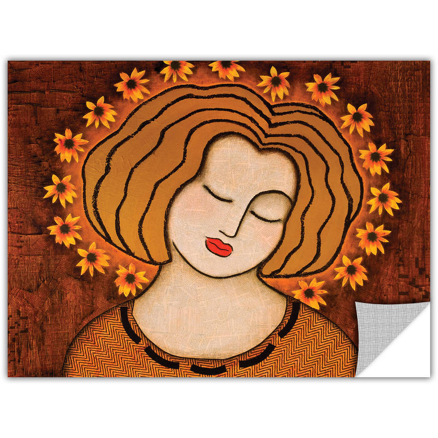 """Gloria Rothrock """"Flowering Intuition"""" Removable Wall Art Graphic"""