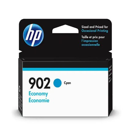 HP 902 Economy Cyan Original Ink Cartridge, 270 Pages (Rb2140 902)