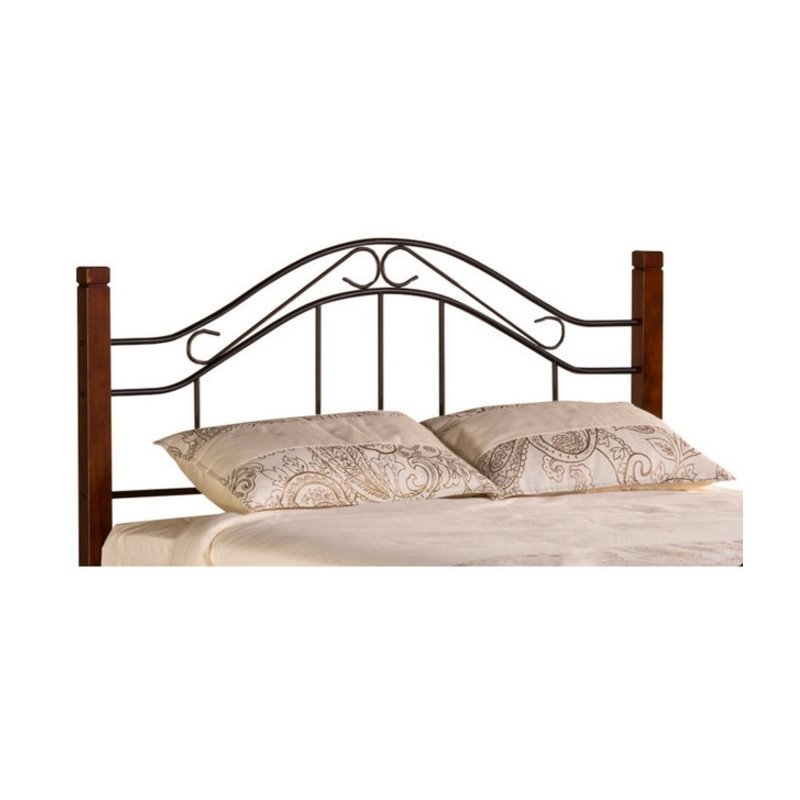 Hawthorne Collections Twin Spindle Headboard with Rails i...