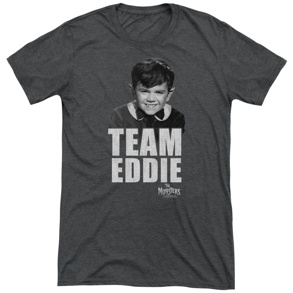 Munsters Team Edward Mens Tri-Blend Short Sleeve Shirt