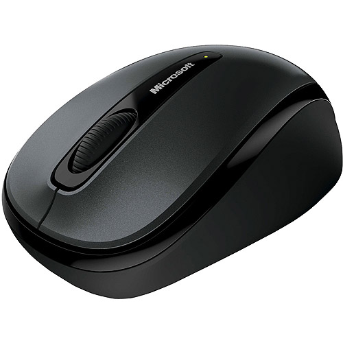 Microsoft Wireless Mobile Mouse 3500 - Limited Edition - mouse - 2.4 GHz - black