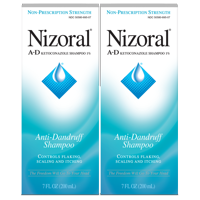 2 Pack, Nizoral A-D Anti-Dandruff Shampoo, 7 Ounces