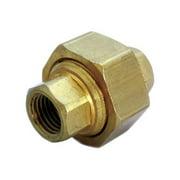 JMF 4505780 0.25 in. Lead Free Union Pipe Brass Fitting