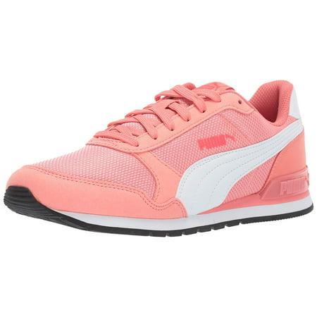 Puma Big Girls/ Juniors/ Kid's Shoes St Runner V2 Strap Mesh Pink