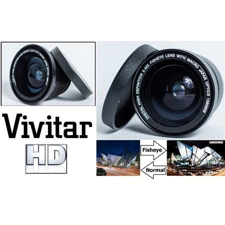 Super HD Fisheye Lens for Nikon D5100 D5500 D3100 D5300 D3300 (52mm