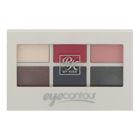 Contouring Eye System - RK by Kiss Eye Contour Eye Shadow Palette Miss Alice, 0.18 OZ