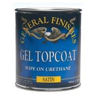 General Finishes Clear Satin Topcoat Gel, Quart