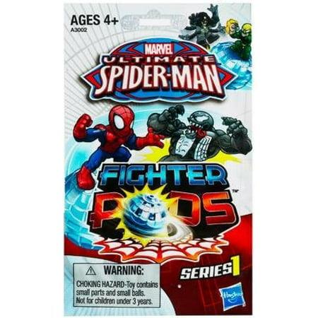 Spider-Man Marvel Ultimate Fighter Pods, 2-Pack