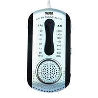 Naxa NAXNR721BKB Naxa AM FM Mini Pocket Radio with BuiltIn Speaker Black