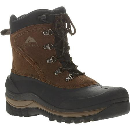 Ozark Trail Men's Brown Pac Winter Boots