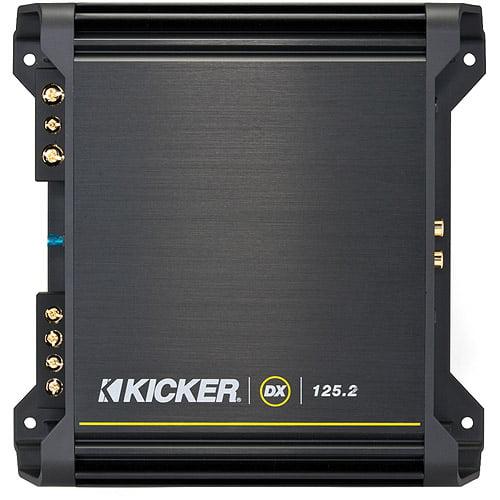 Kicker DX125.2 2 x 62.5W Stereo Full-Range Amplifier