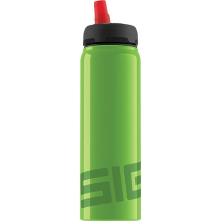 Sigg Water Bottle - Active Top - Green - .75 Liter Water (Sigg Replacement Top)