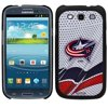 Columbus Blue Jackets Samsung Galaxy S3 Thinkshield Case - White - No Size Much to the envy of your friends, you finally got the Samsung Galaxy S3 phone. Now, an entire galaxy of information is at your fingertips including the latest scoop on your Blue Jackets. Make sure that your precious phone is protected from damage by covering it with this Columbus Samsung Galaxy S3 Thinkshield case. Made of hard shell polycarbonate, this one-piece case features a soft-touch plastic finish, giving you easy access to all of your phone's features and boasts a vibrant Blue Jackets logo.