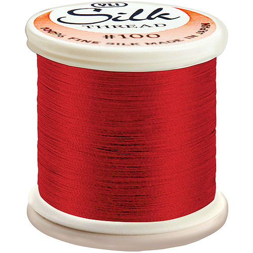 Silk Thread 100 Weight 200 Meters- Multi-Colored