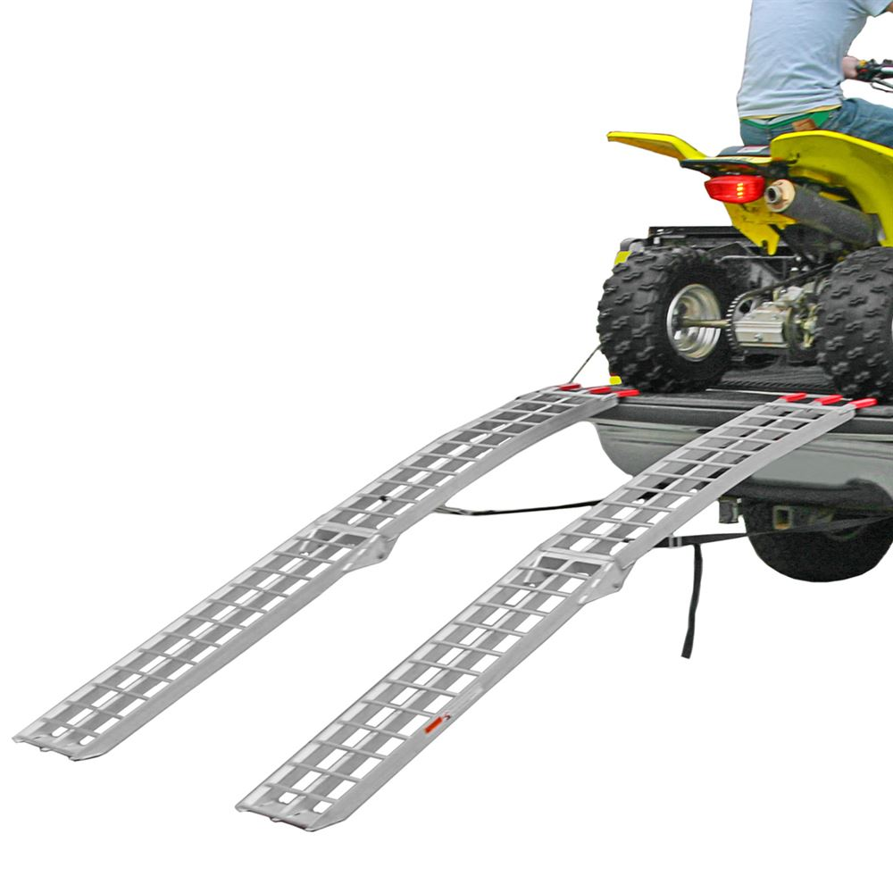 Black Widow AFL-9012-2 Dual Runner ATV Ramp Finger-Style Lip, Rung Surface