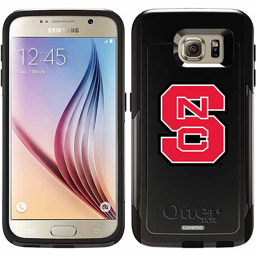 NC State S Design on OtterBox Commuter Series Case for Samsung Galaxy S6