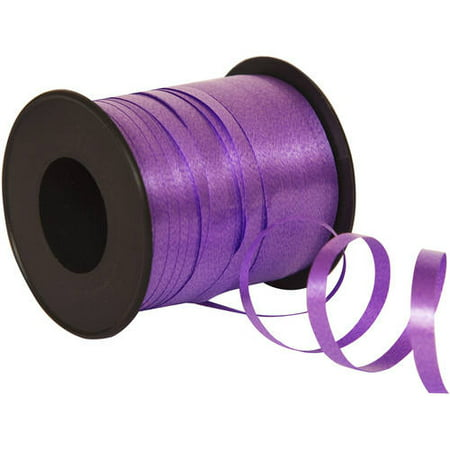 Curling Ribbon, Purple, 100 yd, 1ct