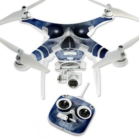 Skin Decal Wrap for DJI Phantom 3 Standard Quadcopter Drone Haunted Skull