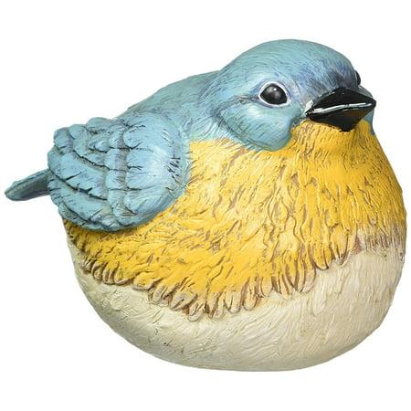 Evergreen Enterprises EG841675 Bluebird Portly Garden Statue, 6 25
