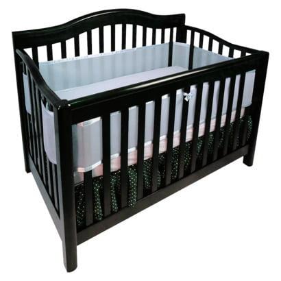 BreathableBaby Mesh Crib Bumper Liner