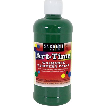 Green Face Paint (Sargent Art Green Tempera Paint, 16)