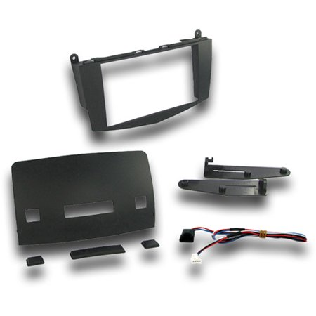 C-class Dash - SCOSCHE MZ2348B - 2008-2011 Mercedes Benz C-Class Aftermarket Stereo Mounting Dash Kit for Car Radio / Stereo Installation