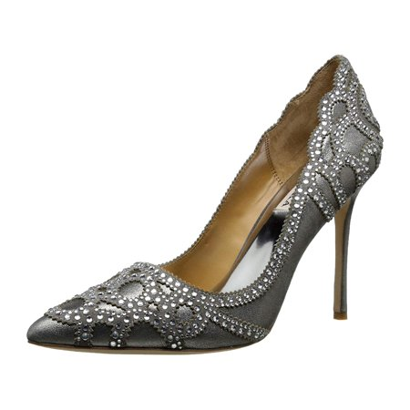432524c3bfed BADGLEY MISCHKA Womens Rouge II Leather Pointed Toe Classic - image 2 of 2  ...