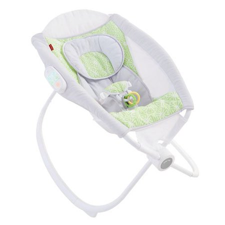 Fisher Price Deluxe Newborn Auto Rock N Play Sleeper With Smartconnect