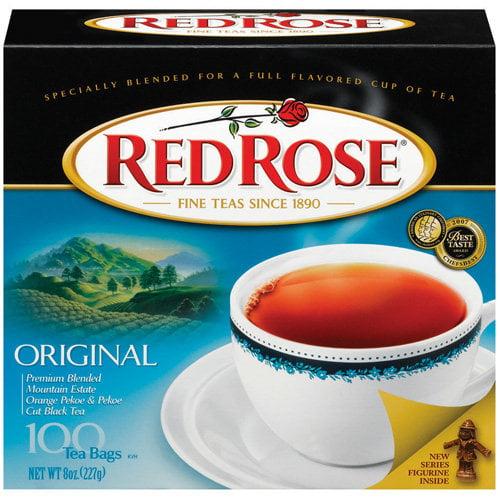 Red Rose: Original Tea Bags, 100 Ct