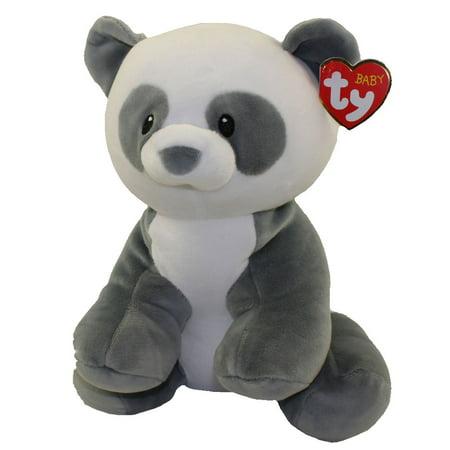 Baby TY - MITTENS the Panda Bear (Medium Size - 13 inch) - Panda Bear Mascot