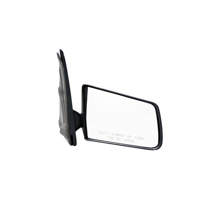 for chevrolet s10 pickup black manual replacement passenger side mirror (mi-047)
