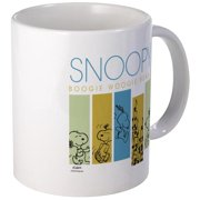 CafePress Boogie Woogie Snoopy Mug Unique Coffee Mug, Coffee Cup CafePress by