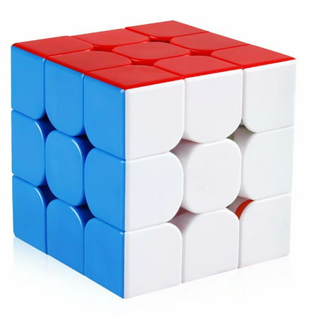 3x3 Speed Cube Stickerless Magic Cube 3x3x3 Puzzles Toys (Cool Puzzle Cube)