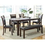 A Line Furniture Rosely Contemporary Wood Dining Set