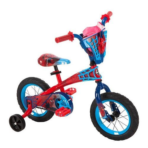 Boys 12 inch Huffy Spider-Man Titan Hero Bike by Huffy
