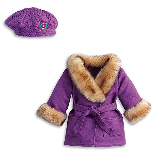 American Girl Julies Winter Coat & Hat for 18-inch Dolls - image 1 of 1
