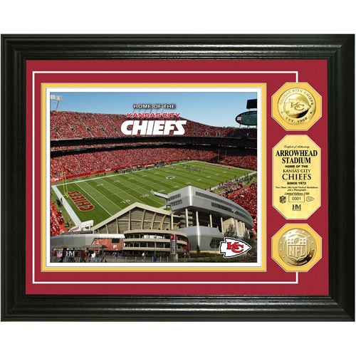 NFL Highland Mint, Gold Coin Photomint, Arrowhead Stadium