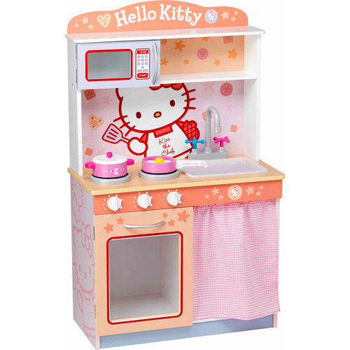 Hello Kitty Modern Kitchen Play Set